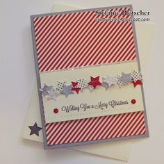 "The Crafty Medic: Countdown to Christmas: Card 6 - Stampin' Up! November ""Noel"" My Paper Pumpkin kit"