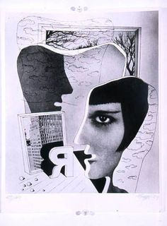 Bauhaus - Herbert Bayer Photomontage