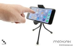 Turn The Device Bracket Vertically Or Horizontally And Everything In-between. -  - Desktop Mobile Device Tripod  - Photo #3