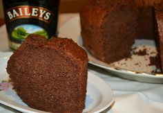 chiffon cake baileys