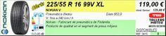 Tallers Mateu: 225/55 R 16 99V XL NOKIAN V