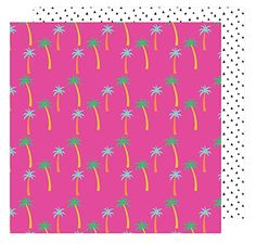 """American Crafts 378738 Amy Tan on a Whim Paradise 25 Pack of 12 X 12"""" Patterned Paper"""