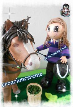 fofucho caballo realizado en goma eva ,caballo fofucho Muñequitas de goma eva…