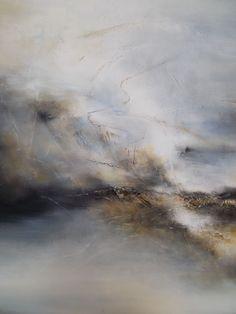 Par le vertige de l'inépuisable vide (Peinture), 130x97 cm par Martine Moreau huile sur toile