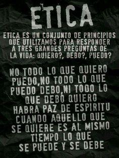 ETICA...