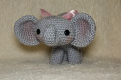 Amigurumi Animals & Dolls - Mrs. V's Crochet  Crochet Elephant