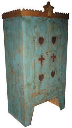 santa fe style armoir