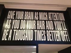 """Give your brain as much attention as you do your hair and you'll be a thousand times better off"" -Malcolm X Malcolm X, Your Brain, Revolution, Wisdom, Wellness, Times, Quotes, Hair, Free"