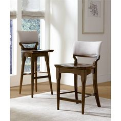 Santa Clara-Counter Stool in Burnished Walnut - 585-11-72