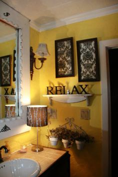 Black And Yellow Bathroom The Blak Will Tone Done Ridic Amount Of Tile White Bathroomyellow Decoryellow