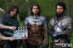 Handsome Musketeers in S3