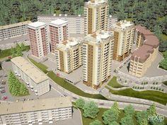 Жилой комплекс, г. Сочи #3dvisualization #architecture
