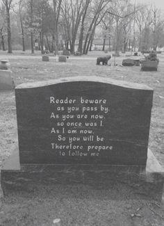 Memento Mori - and words that are true. Memento Mori, Dark Side, Cemetery Headstones, Cemetery Art, Cemetery Angels, Cemetery Monuments, Cemetery Statues, My Demons, The Words