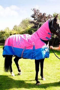 Horse rug - combo full neck - raspberry Horse Rugs, Horse Accessories, Tack, Equestrian, Raspberry, Horses, Room, Closet, Animals
