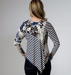 from katherine tilton's studio: Reversible Shirt -- Butterick 6218
