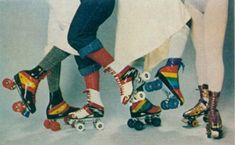 '70s rollerskates..i totally miss the crystal palace!! we had so much fun!!