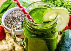 Smoothie-Rezept für einen Grünen Smoothie mit Chia-Samen: So bereiten Sie einen gesunden grünen Smoothie mit Chia-Samen zu ...