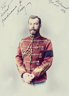 The Romanovs. Nicholas II (1868 – 1918), Emperor of Russia, 1896.