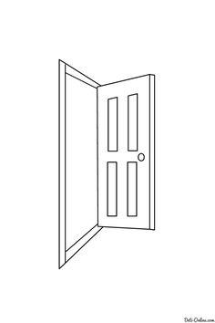 Coloring Tür