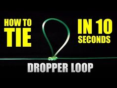 Step by step instructions to make a double twisted Dropper Loop fishing knot and Paternoster rig. This method is simple and the fastest way to this rig for b. Fishing Hook Knots, Bass Fishing Tips, Fishing Rigs, Gone Fishing, Best Fishing, Catfish Fishing, Surf Fishing, Fishing Stuff, Fish Bites