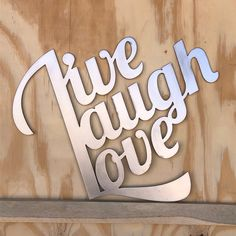 Excited to share this item from my #etsy shop: Live Laugh Love metal sign #laughsteelsign #livesteelsign #lovesteelsign #livelaughlovesign #lovesign #iloveyou #love #laugh #live Cnc Plasma, Plasma Cutting, Cold Rolled, Live Laugh Love, Love Signs, Metal Signs, Iron, Etsy Shop, Gifts
