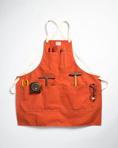 • American-made workwear doesn't have to be boring. Artifact aprons set a great example.