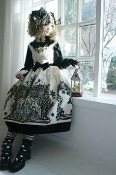 The Night Circus / Cute outfit for poppet