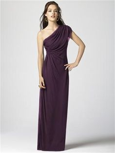 Could go either way. Would need to be tried on.   Dessy Collection Style 2858 http://www.dessy.com/dresses/bridesmaid/2858/