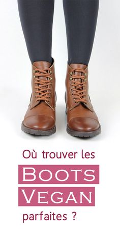 I returned the web looking for my future vegan boots and I propose a beautiful little selection of work boots / combat boots without leather and without any material of an… Vegan Fashion, Ethical Fashion, Slow Fashion, Womens Fashion, Boots Marron, Mode Shoes, Vegan Boots, Nike Pro Women, Sexy Girl