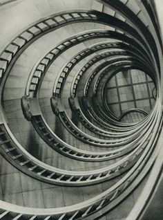 """""""Staircase"""" by Dr Arvid Gutschow Amazing Architecture, Architecture Details, Interior Architecture, Art Deco, Art Nouveau, Grand Staircase, Staircase Design, Curved Staircase, Beautiful Stairs"""