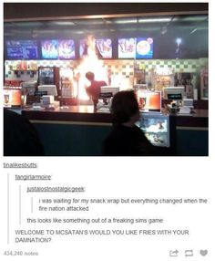 WOULD YOU LIKE FRIES WITH YOUR DAMNATION??