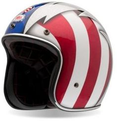cool retro motorcycle open face helmets - Google Search