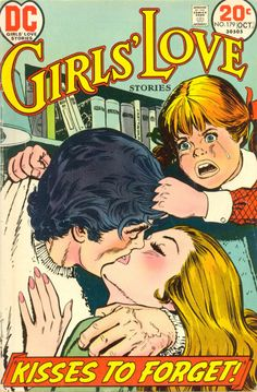 Girls Love Stories 179 Cover_1  #vintage #comics  www.socomic.gr