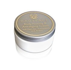 Babyface Body Firming and Anti-Aging Cream ~ High-End Skin Care for your Body. Firms, Lifts, Hydrates and Smoothes. Contains Collagen Booster Vitamin E, Retinol, Argireline, AHA for Sagging Skin, 9 oz. -- Find out more about the great product at the image link. (Note:Amazon affiliate link)
