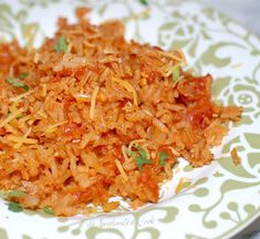 The Enchanted Cook: The Secret to Spanish Rice.making this in the crock pot. - Recipes to Cook - Rice Mexican Rice Recipes, Rice Recipes For Dinner, Mexican Dishes, Slow Cooker Recipes, Crockpot Recipes, Cooking Recipes, Cod Recipes, Casserole Recipes, Yummy Recipes