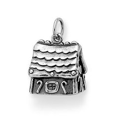 Gingerbread House Charm | James Avery - I only want this for Christmas