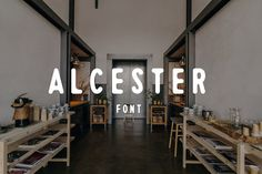 Alcester by Vincent Avila on @creativemarket