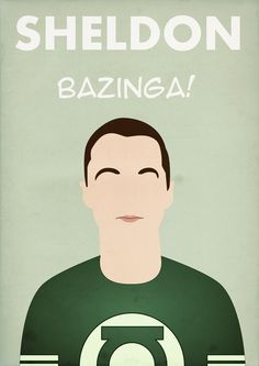 Sheldon, The Big Bang Theory Cast - By Bantam Big Bang Theory, The Big Band Theory, Sheldon Bazinga, Poster Minimalista, Most Popular Tv Shows, Female Friends, Colorful Wallpaper, Breaking Bad, Comic