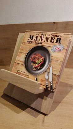 Kochbuchhalter/Buchständer von Fadenstreich&Sägestich auf DaWanda.com