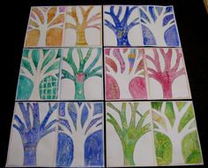 Fall Art Projects, Positive And Negative, Autumn Art, School Days, Techno, Quilts, Winter, Crafts, Classroom Ideas