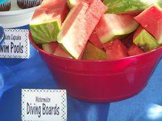 Kims Kandy Kreations: Pool Birthday Party