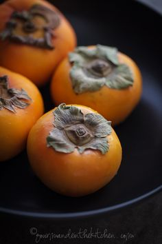 Week of 10/2: fuyu persimmons - couldn't be cuter, or, in my opinion, more bland. Fortunately Stella likes them. Mini project: find a recipe in which I will eat and enjoy them.