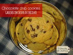 Chocolate chip cookies • Galletas con chispas de chocolate