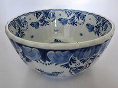 Delft Vintage Porceleyne Fles Royal Delft Bowl Antique