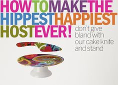 Have you figured out how to make your host this week happy? Everybody LOVES cake!
