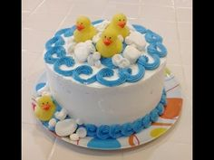 Duck Cupcakes! Make Rubber Duckie Baby Shower Cupcakes - A Cupcake Addiction How To Tutorial - YouTube