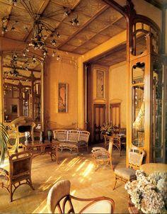 Hôtel Solvay, Victor Horta, 1900 . Art Nouveau.
