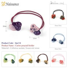 Carino ponytail holder (hairpin, hair accessory, hair accessories, RenaChris, Rena Chris, k pop, k-pop)