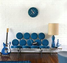 U0027Marshmallowu0027 Sofa Designed By Irving Harper Of George Nelson U0026 Associates,  A Ceramic