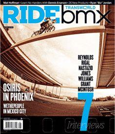 Ride Bmx Magazine cover